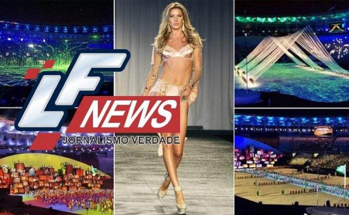 Gisele Bündchen não será mais 'assaltada' na abertura dos Jogos