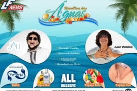 Reveillon das Águas 2017 – o melhor da região – acontece na praia de Buraquinho