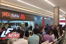 Mix Bahia inaugura mais uma loja, desta vez em Busca Vida. Agora já são 39.