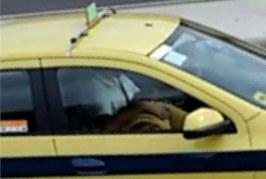 Passageira é flagrada fazendo sexo oral em taxista durante corrida no Rio