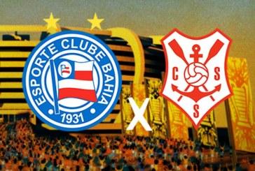 Copa do Nordeste: a pedido da TV, Bahia x Sergipe muda de horário