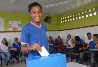 Secretaria da Educação do Estado mobiliza estudantes para a eleição de líderes de classe