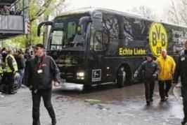 Polícia prende suspeito de atacar ônibus do Borussia e investiga motivação financeira
