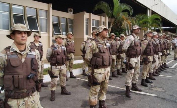 PM de Lauro com efetivo máximo nas ruas nesta sexta (28)