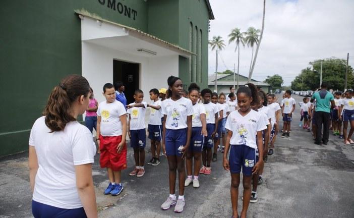 Projeto Força no Esporte atende alunos da rede municipal de Lauro de Freitas