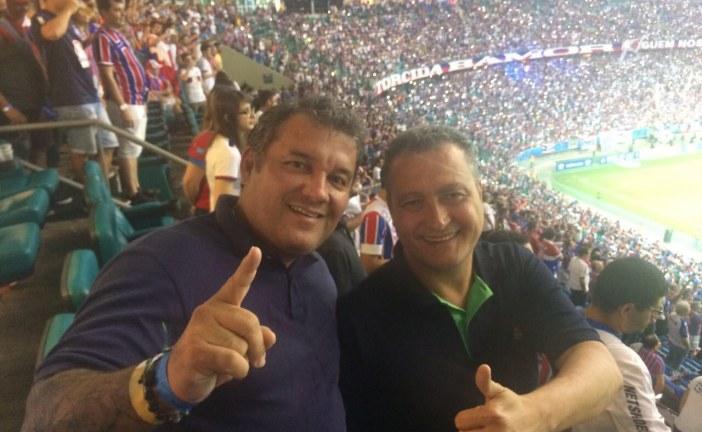 Bahia Tri-campeão do Nordeste: Governador e secretário é só alegria