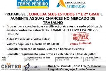 CECC – Centro de Estudos, Crescer e Construir fazendo a diferença em Lauro de Freitas. Saiba mais