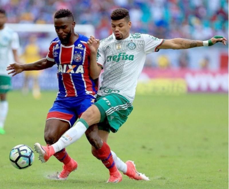 Adeus invencibilidade: Bahia leva 4 do Palmeiras dentro de casa e cai na tabela