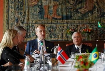 Na Noruega, Temer diz que Brasil 'está deixando para trás uma severa crise'