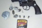 Lauro de Freitas: Polícia prende em flagrante homem com arma de fogo