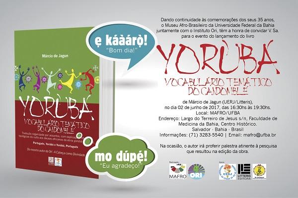 Livro com vocabulário do iorubá no candomblé será lançado nesta sexta-feira (2)
