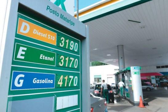 Petrobrás anuncia aumento de 3,5% no preço do diesel, e 0,6% no da gasolina para amanhã