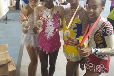 É ouro! Meninas da Ginástica Rítmica da Kadosh de Lauro de Freitas brilham em Torneio Estadual