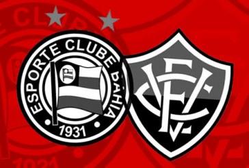 Com derrotas, Bahia chega a 30.5% de chance de rebaixamento e Vitória tem 59.9%