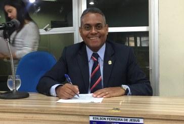 Edilson Ferreira solicita a criação do Programa de Prevenção e Controle da Obesidade em Crianças e Adolescentes