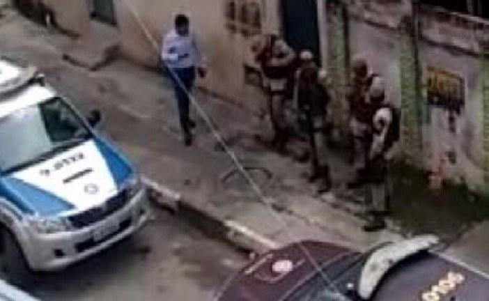 Policiais da Rondesp apreende drogas e armas de fogo em Itinga. Um bandido morre