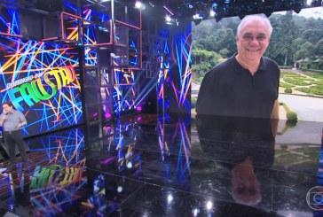 Faustão ignora regra da Globo e faz homenagem a seu amigo Marcelo Rezende ao vivo