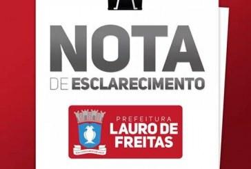 Prefeitura de Lauro de Freitas esclarece sobre a situação da educação municipal
