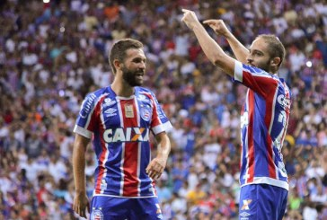 Bahia divulga bastidores da partida diante do Corinthians; assista