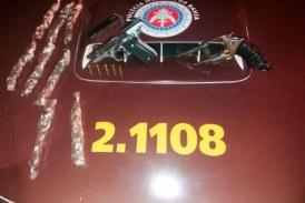 Dois suspeitos morrem após troca de tiros com a polícia em São Cristóvão