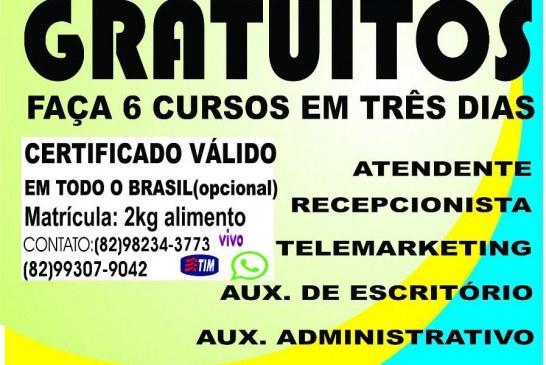 OPORTUNIDADE: empresa oferece cursos profissionalizantes GRATUITOS em Lauro de Freitas. Confira