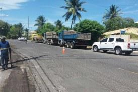 Moradores de Vilas agradecem a intervenção da Seinfra no bairro
