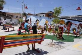 Espaço de lazer é entregue em clima de festa neste sábado em Itinga