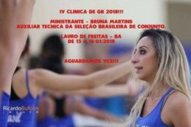 IV Clínica de Ginástica Rítmica acontece em Lauro de Freitas