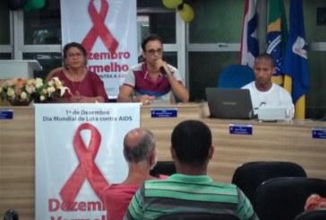 Dezembro Vermelho de prevenção a AIDS é lançado na Câmara