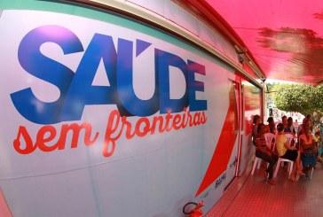 Mais cinco municípios da Região de Serrinha recebem o Saúde sem Fronteiras