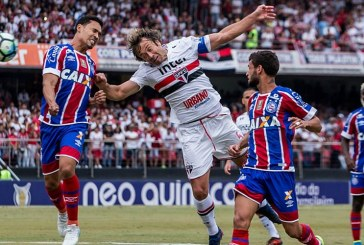 Bahia marca do fim, se despede da temporada com empate e garante a Sul-Americana