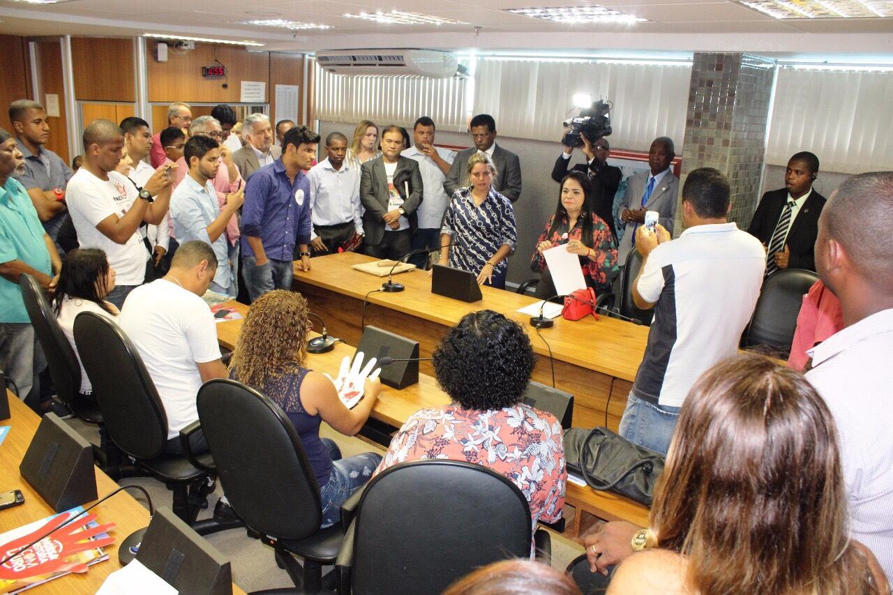 População se mobiliza para cobrar da ALBA celeridade na definição dos limites
