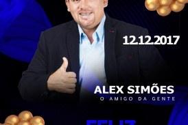 Aniversariante do dia, Alex Simões de Itinga
