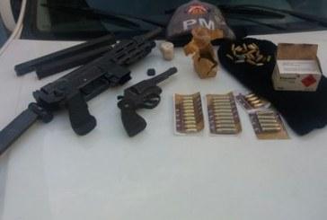 81ª CIPM desarticula quadrilha de roubo a banco e tráfico em Itinga