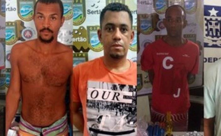PM fecha cerco contra tráfico em quatro cidades da Bahia
