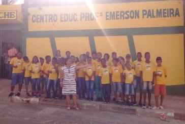 Centro Educacional Prof. Emerson Palmeira marca presença na Univerão