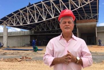 Deputado Joseildo Ramos visita obras da Policlinica de Alagoinhas