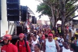 Blocos e trios animaram primeiro dia da Ressaca de Carnaval em Areia Branca