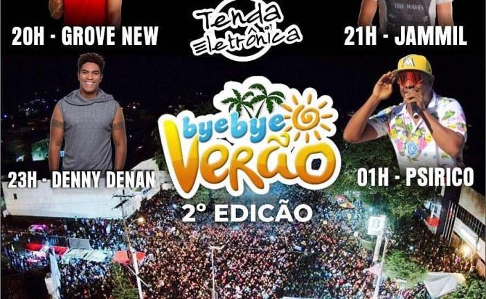 Bye Bye Verão começa hoje em Vera Cruz