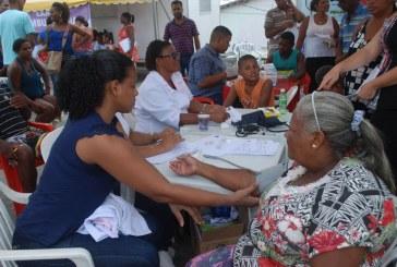 Prefeitura realizou mais de 400 atendimentos na feira Mais Saúde Perto de Você neste sábado