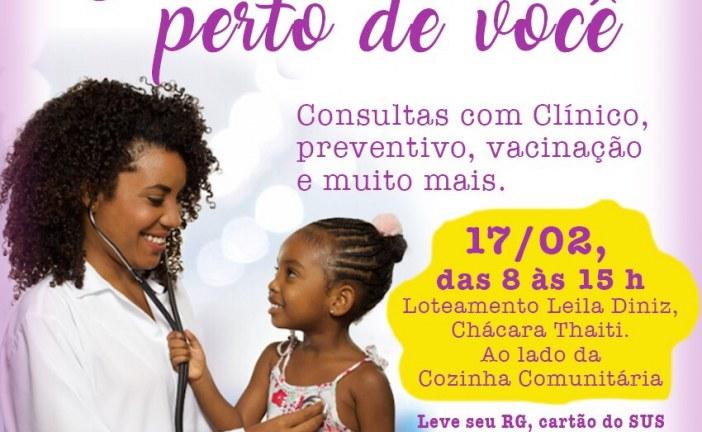 Loteamento Leila Diniz recebe Feira da Saúde neste sábado