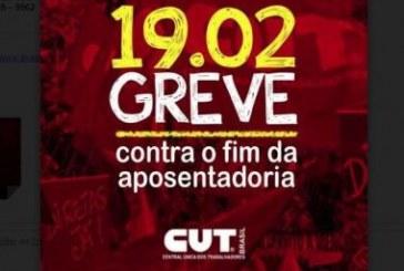 CUT anuncia greve geral na segunda com atos em Salvador, RMS e interior da Bahia