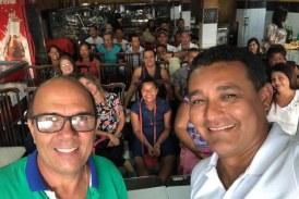 Simões Filho: Alexandre Marques participa de reunião com o presidente do PRP municipal