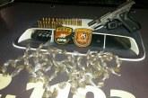 Criminoso preso no Carnaval é capturado novamente com arma e drogas
