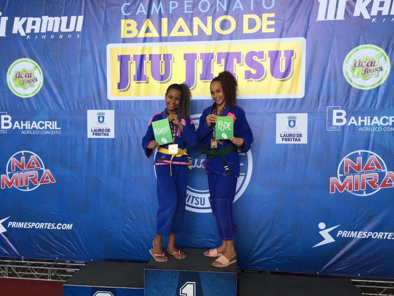 """Campeonato Baiano de Jiu-Jitsu apoia campanha """"Respeita as Mina"""""""