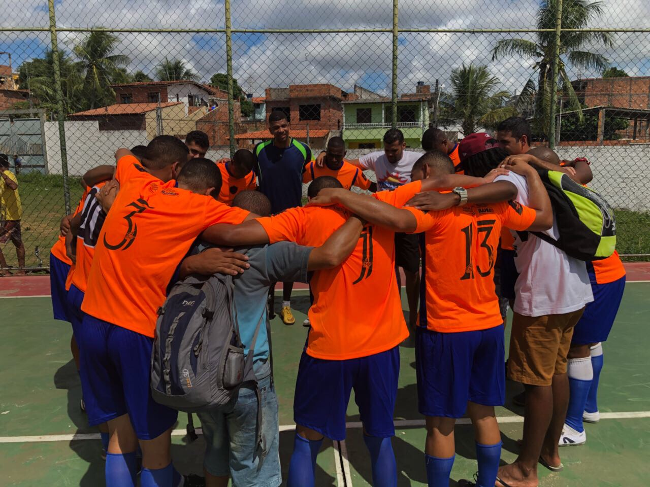 Malazarte vence na 1ª rodada do 6º campeonato de futsal da Associação dos Moradores e Amigos do Parque São Paulo