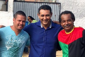 """Em Itinga, Alexandre Marques prestigia projeto """"A tarde do reggae"""""""