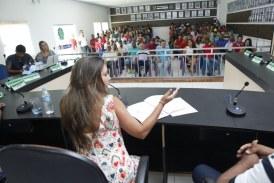Em Paratinga, deputada Mirela recebe apoio da ex-prefeita e do seu grupo de vereadores