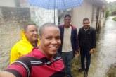 Equipe do vereador Tito Coelho atuando junto com a Sesp nas Pedreiras